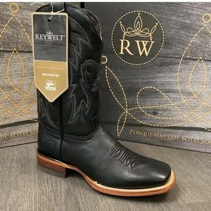 01485 MEN'S RODEO COWBOY BOOTS GENUINE LEATHER